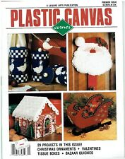 PLASTIC CANVAS CORNER MAGAZINE PREMIER   EDITION  (#1107)