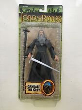 BNIB LORD OF THE RINGS GANDALF THE GREY MARVEL FIGURE FELLOWSHIP FACTORY ERROR