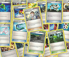 Lot of 50 Pokemon Trainer Cards Trading Free shipping