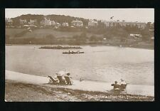 Somerset PORTISHEAD The Lake and Wood Hill used c1920 PPC
