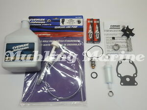 25 - 30hp Evinrude Etec E-Tec Service Kit, with gear oil pump