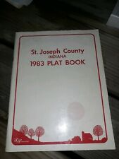 St. Joseph County Indiana Plat Map Book 1983