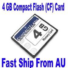 4GB 4G Compact Flash CF I II Memory Flash Card For SLR Camera New High Quality