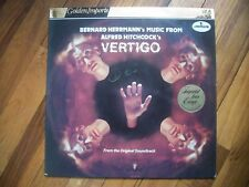 VERTIGO---BERNARD HERRMANN'S MUSIC FROM ALFRED HITCHCOCK'S VERTIGO-- VINYL ALBUM
