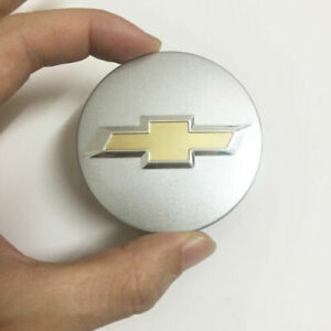 Chevy Wheel Emblem Center Hub Caps 59mm for Chevrolet Silver Sparkly 4Ps