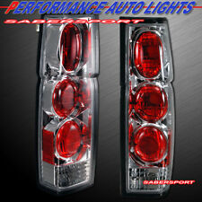 Set of Pair Chrome Altezza Style Taillights for 1986-1997 Nissan Hardbody Pickup