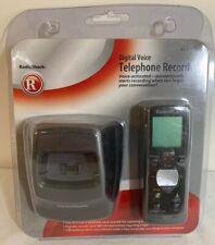 RadioShack Grabadora digital de voz 43-127 registros conversaciones telefónicas. nuevo viejo stock.