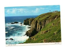 Cornwall - Land's End - Picture Postcard Franked 1990