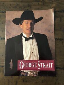 George Strait Tour Program Vintage