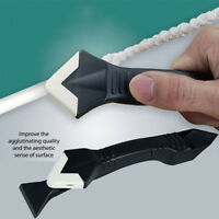 3-In-1 SILICONE SEALANT SCRAPER REMOVAL TOOL BATH SHOWER SINK Clean Practical