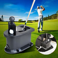 New listing Premium Golf Ball Club Washer Cart-Mount Cleaner Buggy Wiper Maintain Black