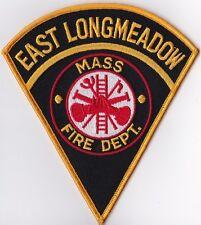 East Longmeadow Fire Dept. MA Firefighter Patch NEW!!