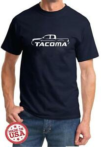 Toyota Tacoma Pickup Truck Classic Outline Design Tshirt NEW