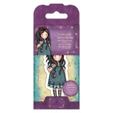 Gorjuss Mini Collectable Stamp #22 Pulling on Your Heart Strings