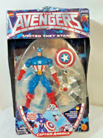 Avengers United They Stand Captain America Toy Biz Marvel 1999 Action Figure