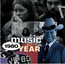 MUSIC OF THE YEAR  1980   ( 20 Great Tracks )  Various Artists  Mint