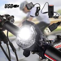 Road Bike Bicycle Headlight LED Front Light Anti-glare Bright 3 Modes Headlamp