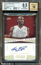 2013-14 Timeless Treasures GOLD Kobe Bryant Lakers HOF 3/3 BGS 8.5 w/ 10 AUTO