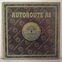 "Mario d'Alba – Autoroute A6 (Vinyl, 12"", Maxi 45 Tours)"