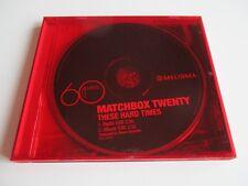 MATCHBOX TWENTY These Hard Times CD Single Promo Only 2 Tracks 2007 NEW