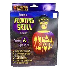 Pumpkin Masters Create a Floating Skull Illusion Carving Lighting Kit