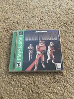 Star Wars: Dark Forces (Sony PlayStation 1, 1997) PS1 Complete game Tested VG