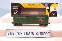 K-LINE K645-1911 REA RAILWAY EXPRESS AGENCY STEEL-SIDED REEFER. EXC COND IN BOX!