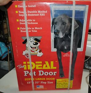 """Ideal Pet Products. For Extra Large Pet 15"""" X 20"""" DOOR NEW"""
