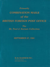 Combination Mails of the British Foreign Post Office, Dr. Paul J. Kornan Collect