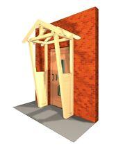 Haustürüberdachung Haustürvordach KVH Tür Dach Haustür Garten Heimwerken