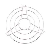 "Home Kitchen Metal 10"" Diameter Round Cooker Steamer Rack Stand B7D3"