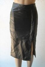 Leather Straight, Pencil Dry-clean Only Knee-Length Skirts for Women