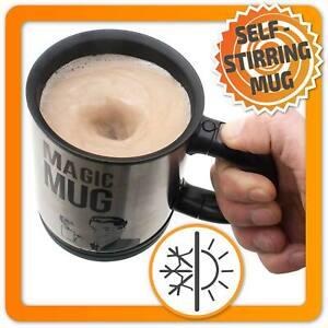 Selbstrührende Tasse Lazy Magic Mug Selbstrührender Becher automatisch rührend