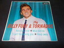 "BILLY FURY AND THE TORNADOS EP 45 RPM 7"" 1963 DECCA UK (VG++) Picture Sleeve"