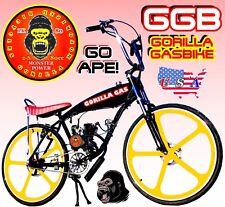 "66cc/80cc 2-Stroke motorized bike Kit And 29"" Gas Tank Frame Bike Powerful"