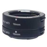 Meike MK-F-AF3 Metal Auto Focus Macro Extension Tube 10+16mm for Fuji Fujifilm