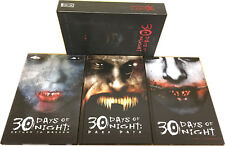 THIRTY 30 DAYS OF NIGHT TRILOGY Book Boxset Signed Edition