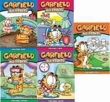 Garfield and Friends Series Complete Season Vol 1 2 3 4 5 Box DVD Sets RARE Lot