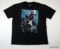 Men's Star Wars Darth Vader Mosaic T-Shirt Black Sz XXL 2XL