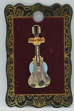"Hard Rock Cafe -Vintage HRC Barcelona ""Sadrafamilia"" Guitar Pin"