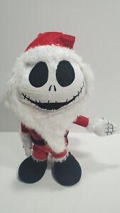 Nightmare Before Christmas Animated Dancing Jack Skellington in Santa Suit