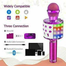 Karaoke Microphone Wireless speaker for iPhone Android PC smart phone