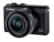 Canon EOS M100 Black Ef-m 15-45 Mm