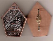132°BATAILLON   CYNOPHILE   de   l'ARMEE   de   TERRE      bronze  (  Leblond  )