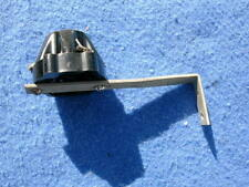 1946 Packard Plamor lamp socket with type 5 mounting bracket, black Bakelite