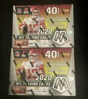 ✅🏈🔥2020 Panini Mosaic NFL Football Sealed MEGA BOX (1)