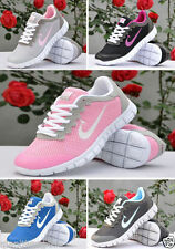 NEW Classic Women Running Shoes Breathable  Sneaker Trainer Lace up Sport Shoes