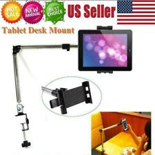 360 Rotating Arm Desk Holder Stand Table Mount Bracket For iPad Phone Free Ship
