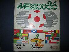 Panini wm 86 este álbum WC 1986 álbum completo con todos los sticker album cromos