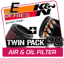 K&N Air & Oil Filter Twin Pack! VOLVO V70R 2.5L L5 2005-2007  [KN #E-2019]